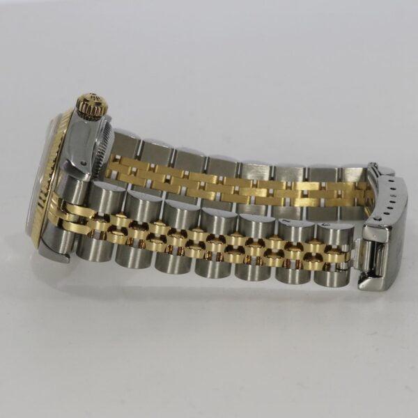 Rolex Lady Datejust guld och stål